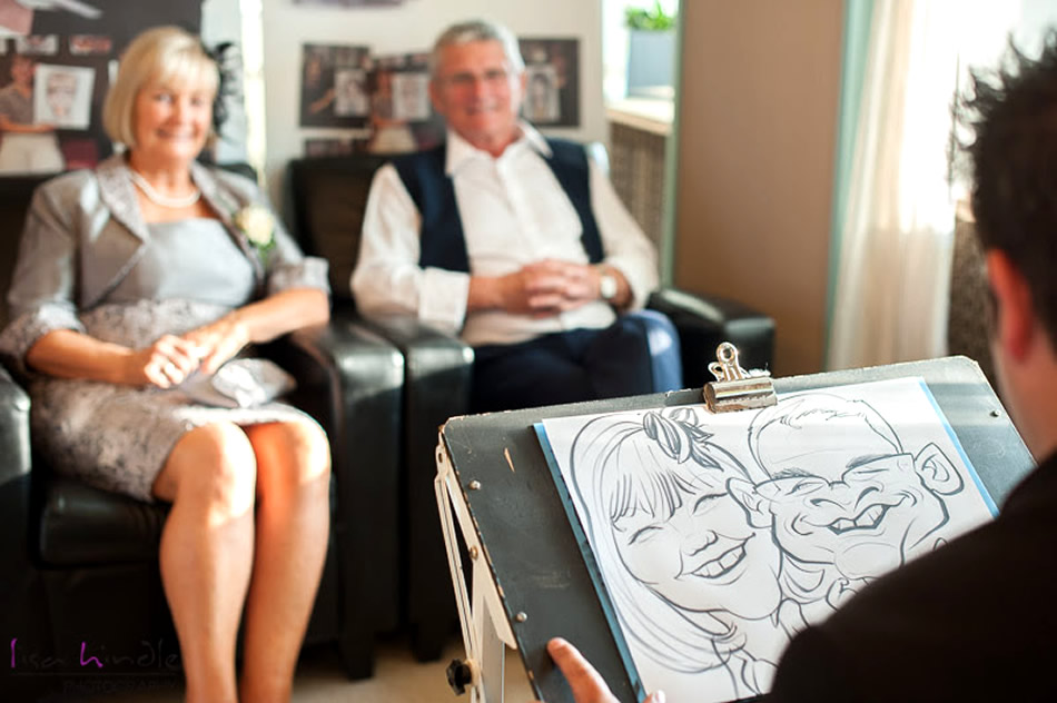 Caricaturists are Very Popular Entertainers