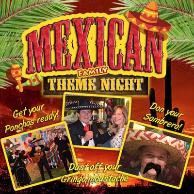 Mexican Family Night @ Holt Lodge, Wrexham